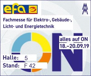EFA Halle 5 Stand Halle F42