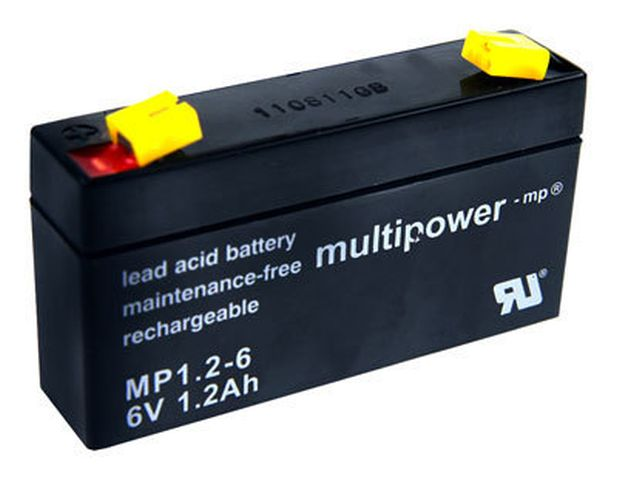 Multipower MP 6V 1,2 Ah